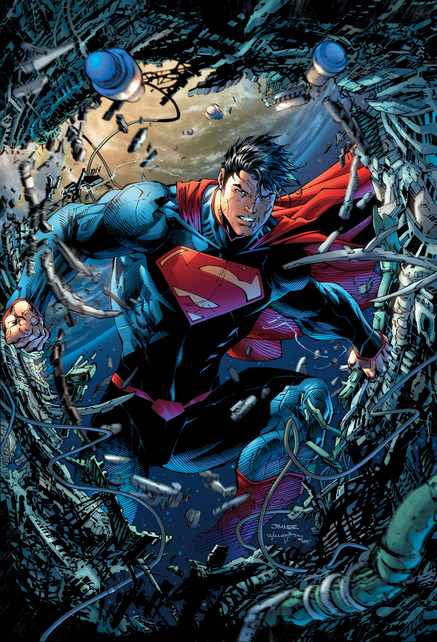 Book Cover Art Database : Superman unchained vol dc comics database