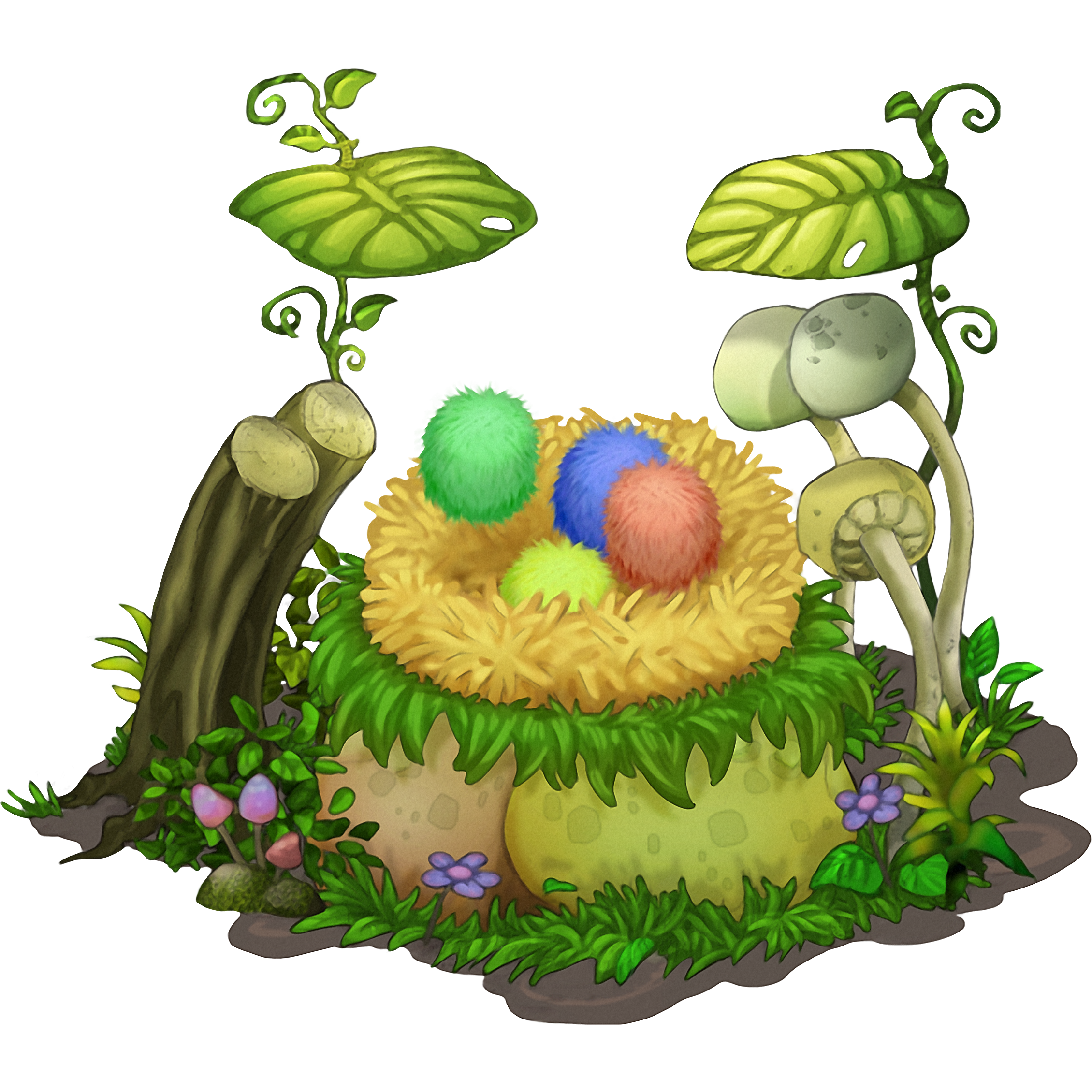 Floofy Nest - My Singing Monsters Wiki