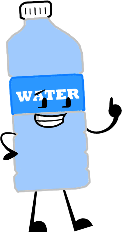 Image - Water Bottle Pose.png - Battle For Dream Island ... Water Bottle Clip Art Pic