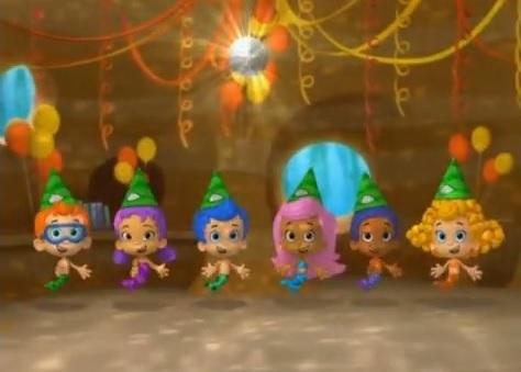 Nonny's Gallery - Happy Holidays, Mr. Grumpfish! | Bubble ...  |Bubble Guppies Nonny Happy