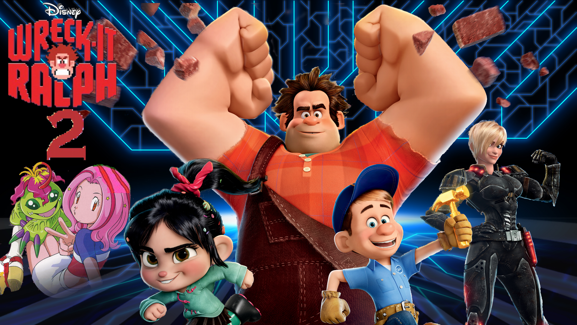 File:Disney Wreck-It Ralph 2 with Digimon.png