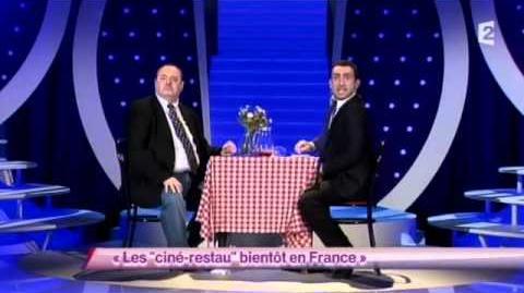 """Les """"ciné-restau"""" bientôt en France"""