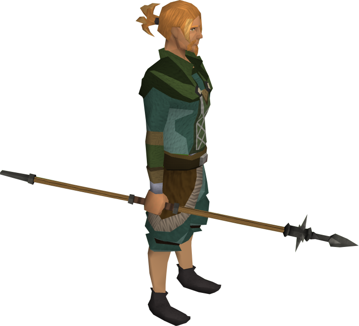 Runescape training some ranged for mithril crossbow - 3 2