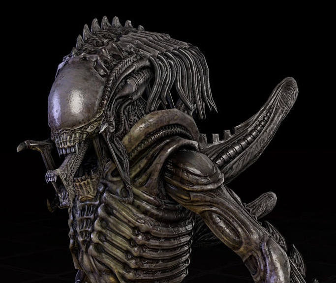 Here we have the infamous xenomorph based-strain of the yautja, the unstoppable predalien!