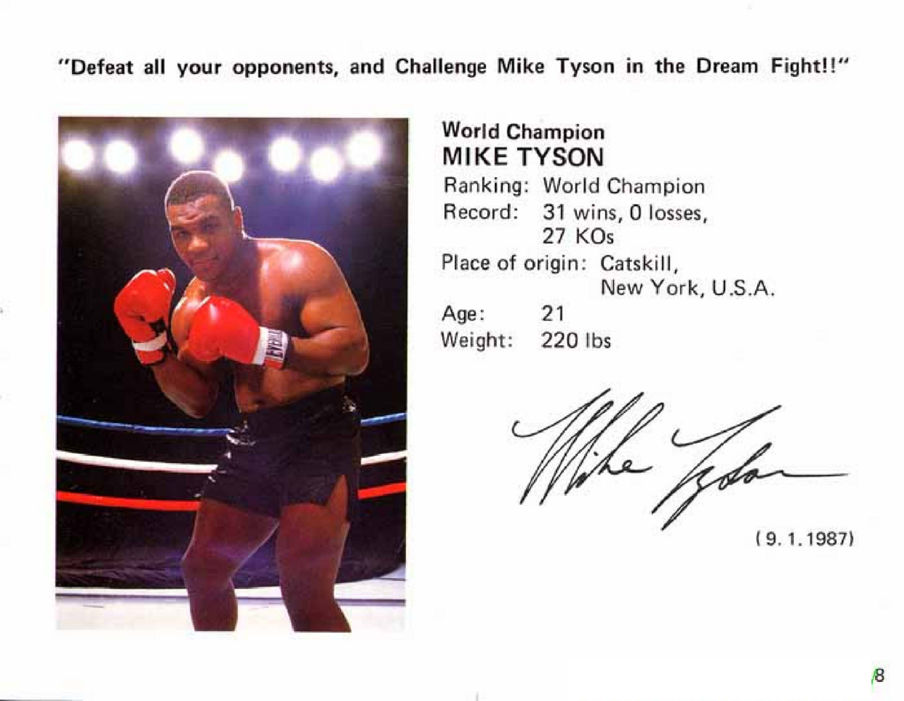 Mike Tyson Punch Out Wii : Image mike tyson s punch out page the nintendo