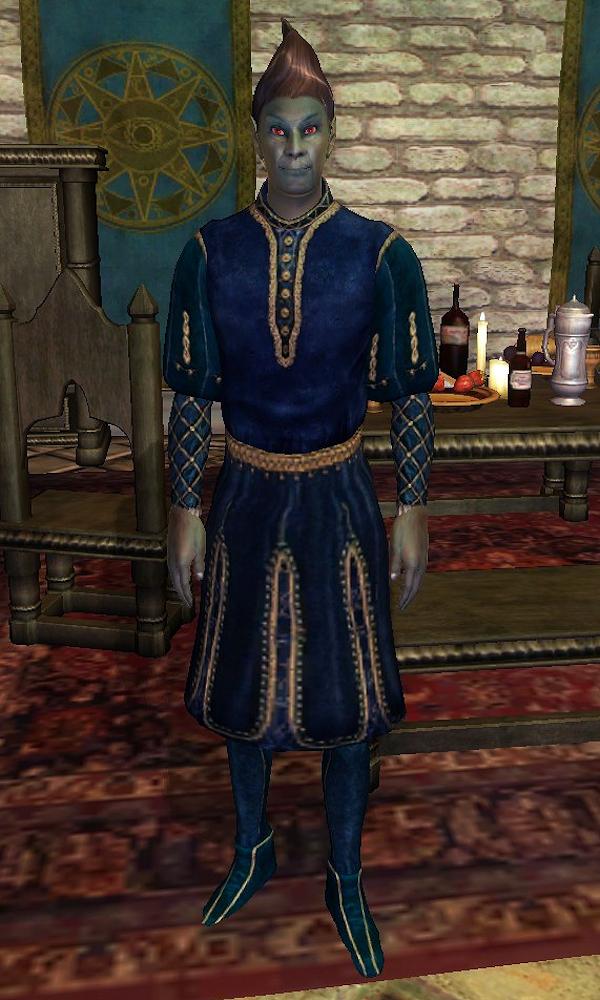 Daedric Armor Morrowind Dunmer (Oblivion...