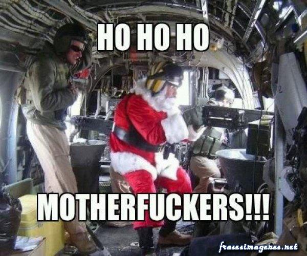 Letras divertidas de Navidad divertidas de santa