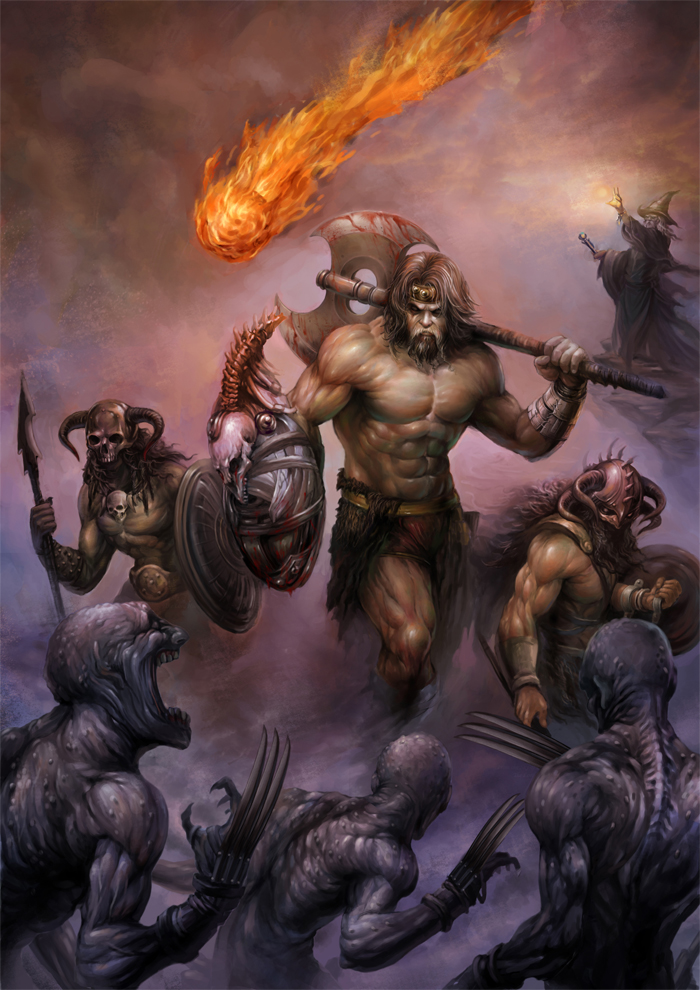 Barbarian - D&D4 Wiki, the D&D 4th edition wiki