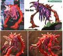 Godzilla: The Series - Red C-Rex