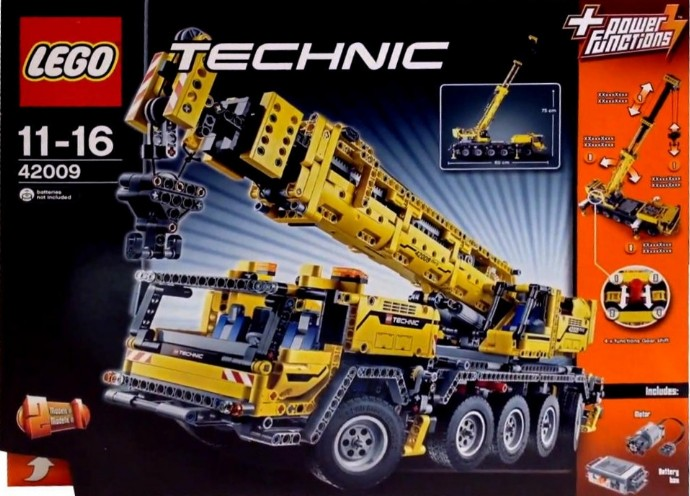 42009 mobile crane mk ii brickipedia the lego wiki. Black Bedroom Furniture Sets. Home Design Ideas