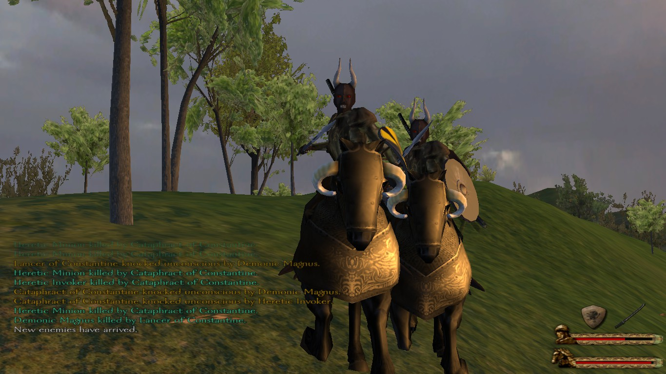 mount and blade pendor how to get a demonic charger