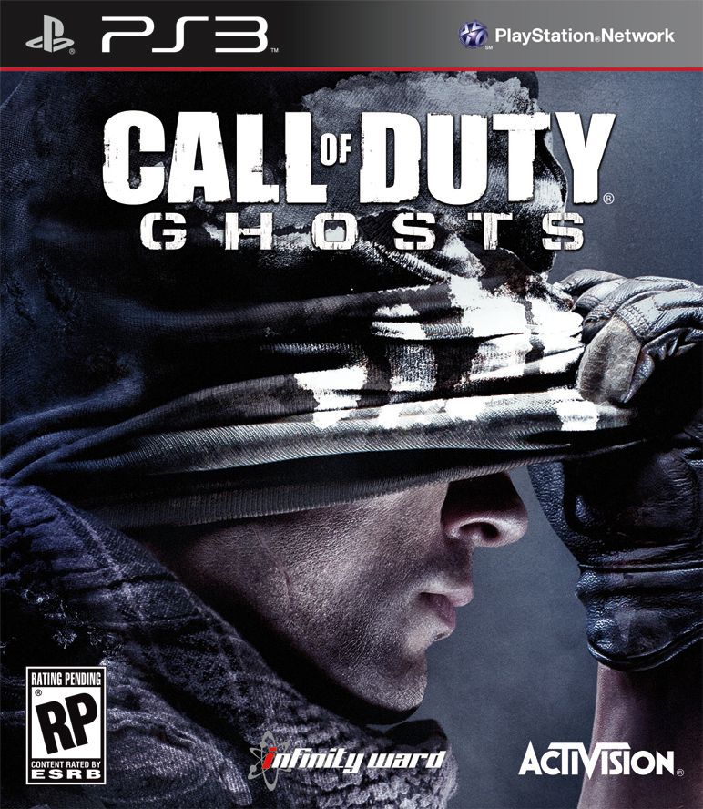 Call of Duty Ghosts Ps3 Cover