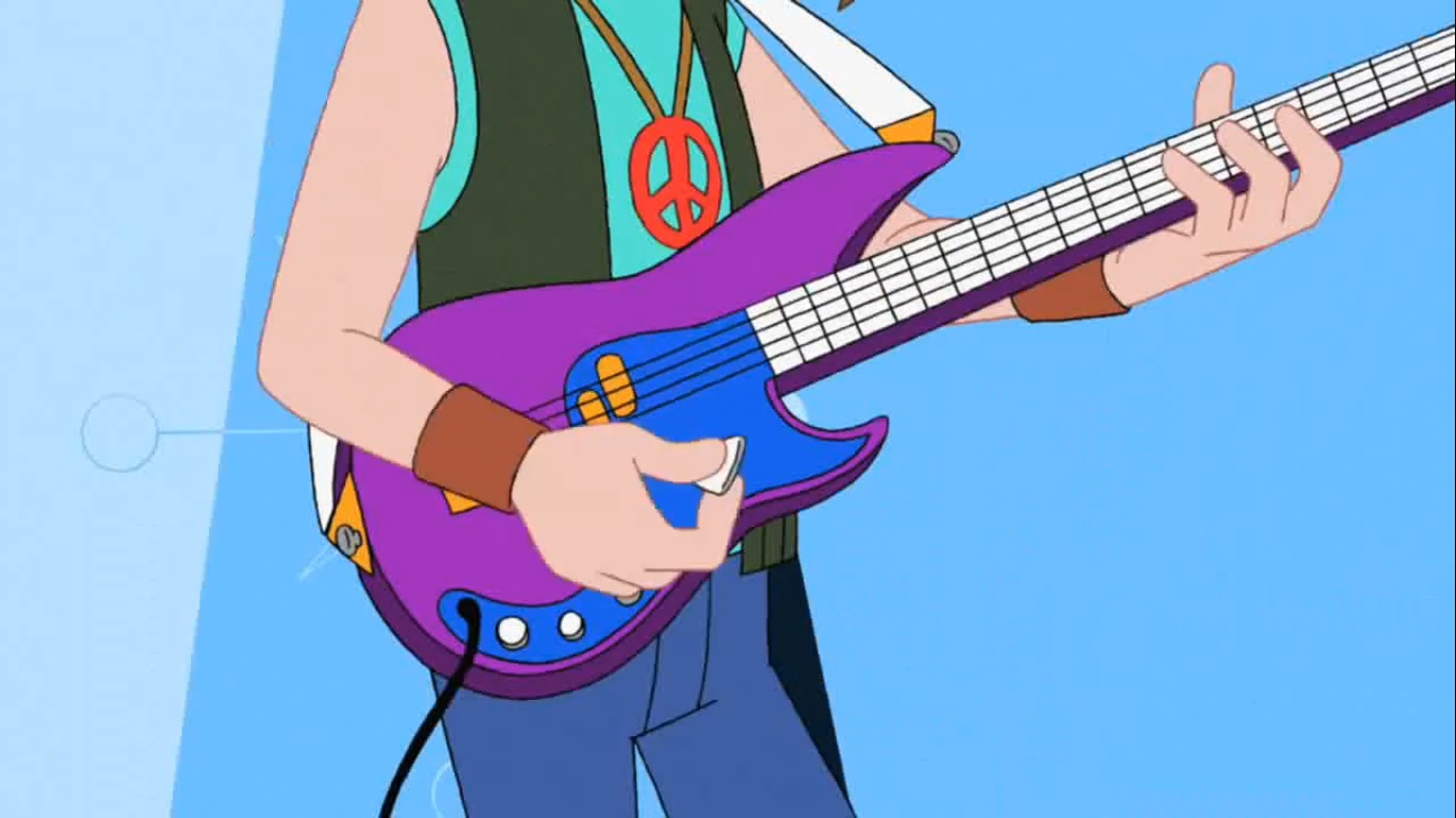 Phineas And Ferb Guitar: Danny's Psychedelic Guitar.jpg