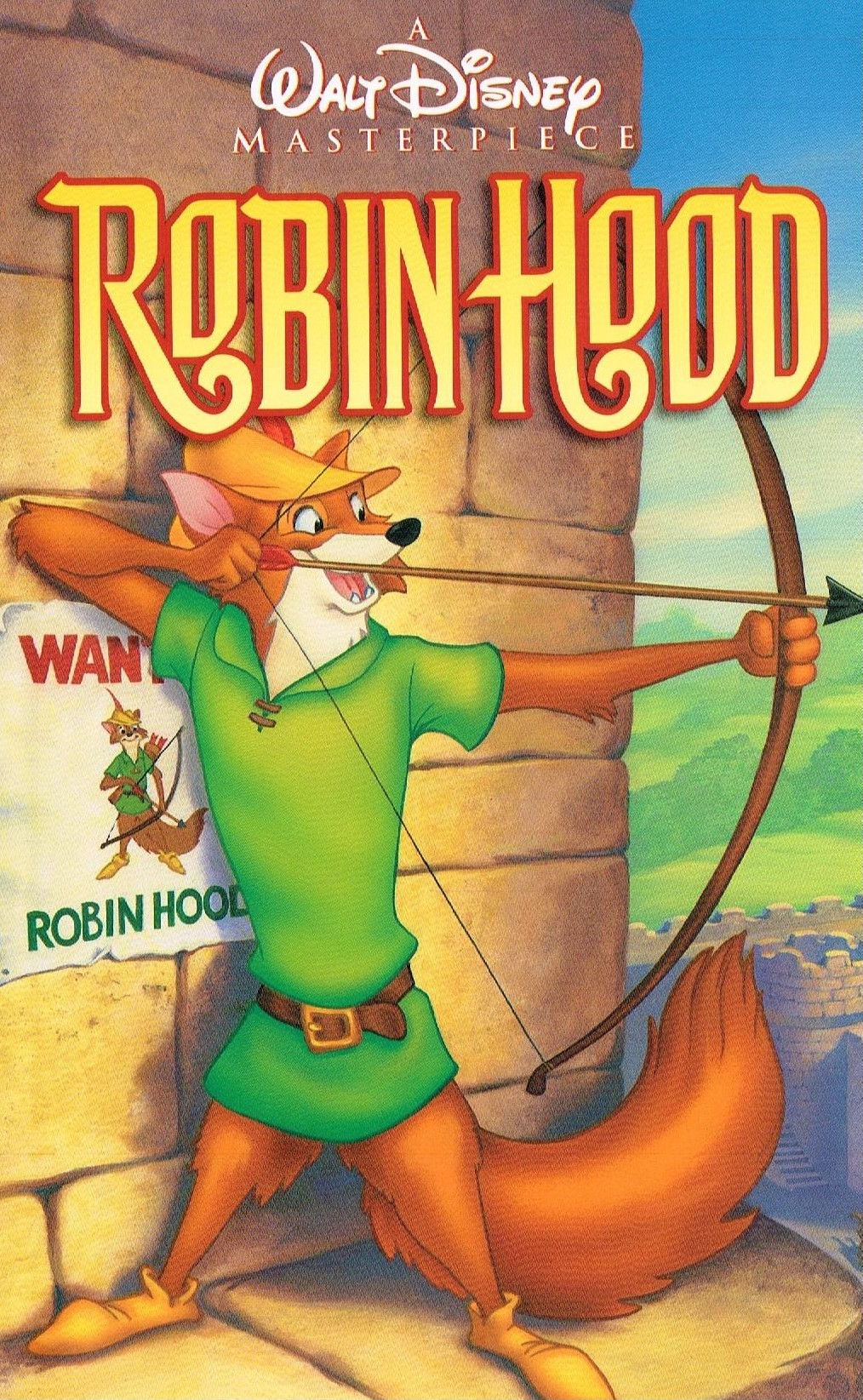 robin hood video disney wiki