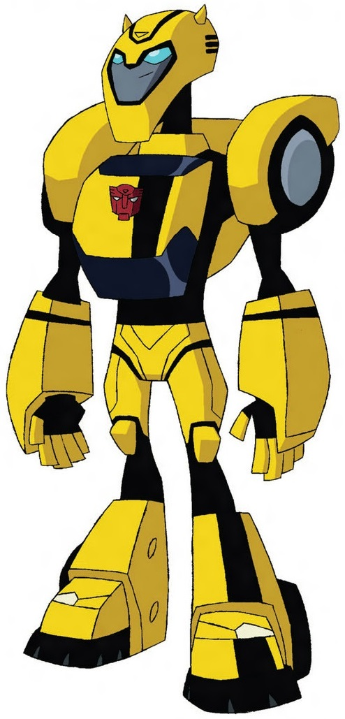 Bumblebee Transformers Animated Bumblebee - Tra...