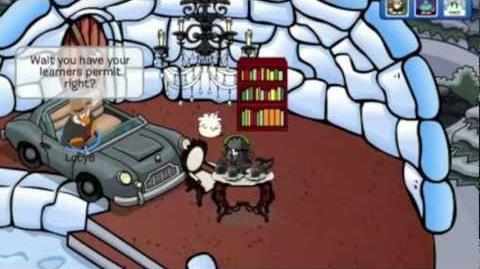 Club Penguin A Christmas Carol