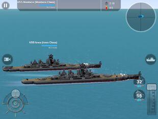 USS Iowa and Montana Rendezvous