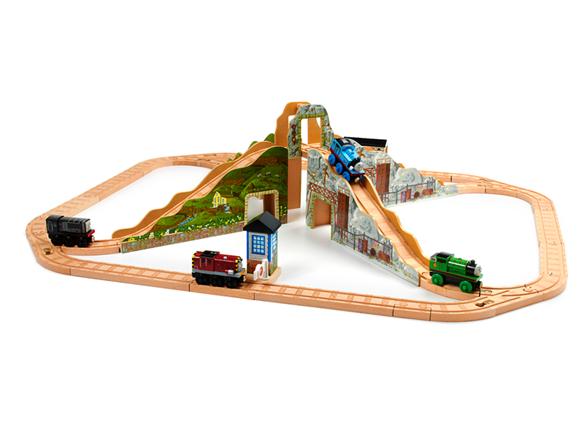 steamies and diesels set thomas wooden railway wiki. Black Bedroom Furniture Sets. Home Design Ideas