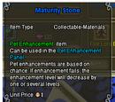 Maturity Stone