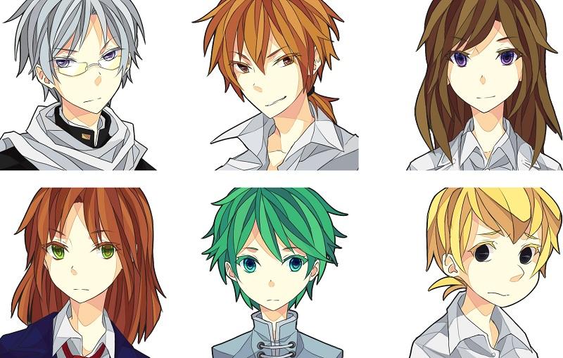 The main characters of Nira Oni