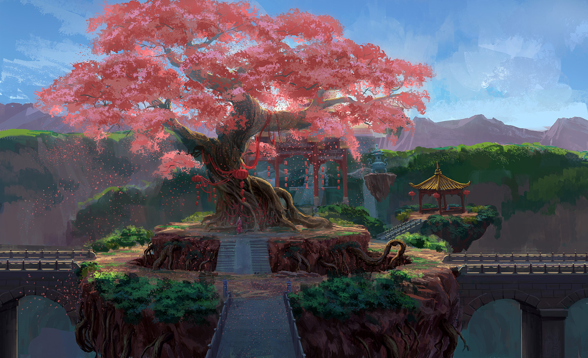 http://img2.wikia.nocookie.net/__cb20130516224520/warriorsofmyth/images/f/fa/1200x731_437_Big_big_peach_tree_2d_fantasy_landscape_environment_concept_art_tree_picture_image_digital_art.jpg