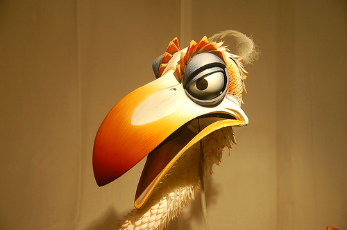Image - Zazu Puppet Musical.png - The Lion King - Wikia Lion King Broadway Zazu