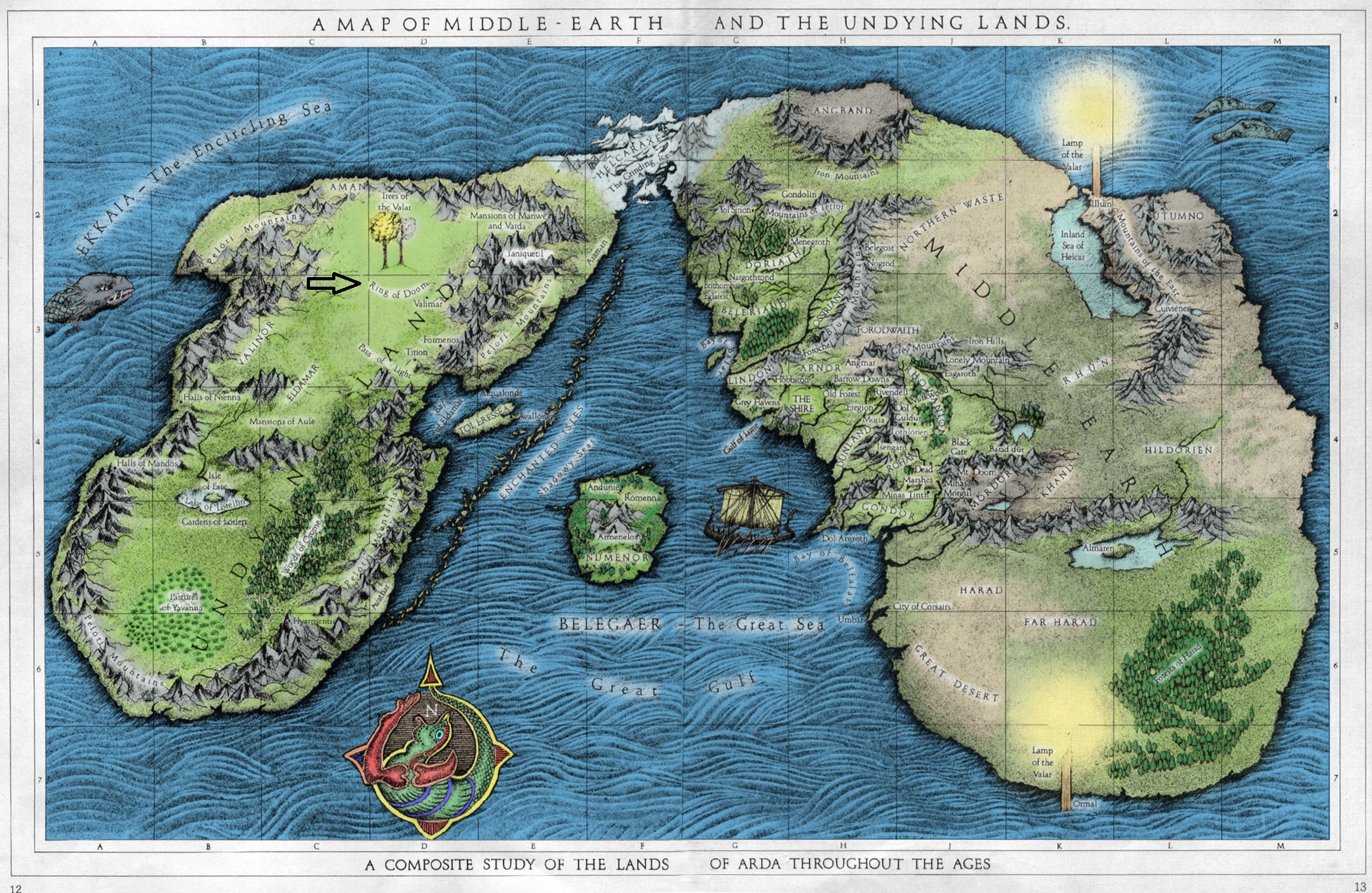 A_Map_of_Middle-earth_and_the_Undying_La