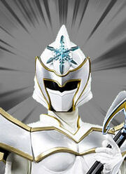 Power Rangers Mystic Force - White Ranger MorphWhite Mystic Ranger