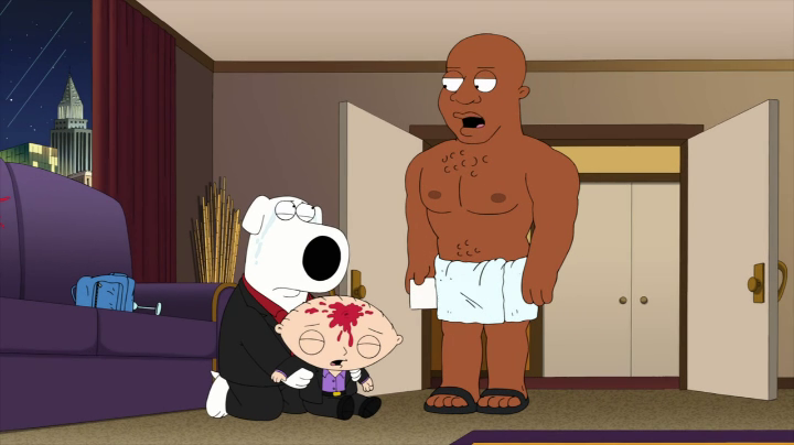 Name Of Old Guys Dog On Family Guy