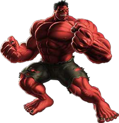 Red Hulk Modern Marvel Avengers Alliance free CP, Gold, iso, and more!