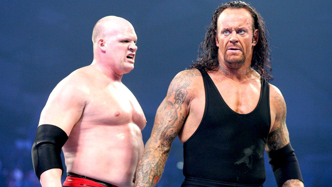 Undertaker And Kane In Real Life Image - Kane and undertaker