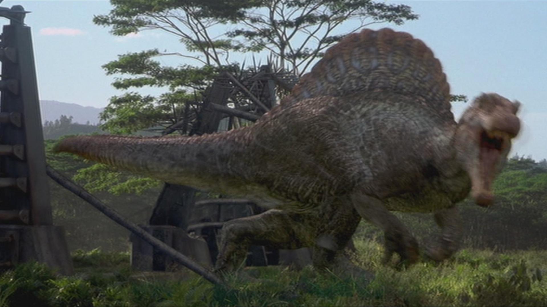 Jurassic Park T-Rex vs JURASSIC PARK 3 Spinosaurus | Jurassic Park.