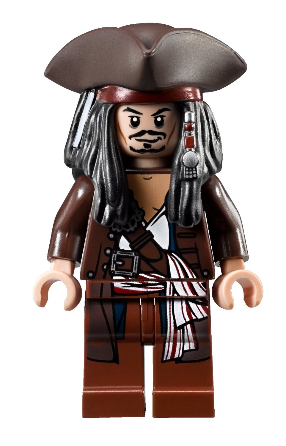 Theme Pirates Of The Caribbean Variations Normal Captain Face Painted