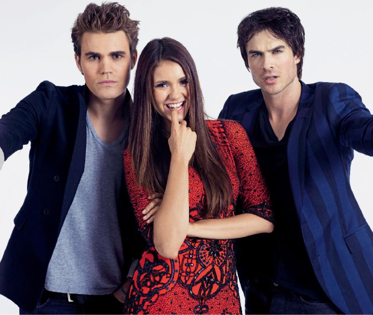 The Vampire Diaries Nina Dobrev Despised Paul Wesley at First