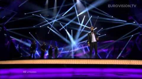 Andrius Pojavis - Something (Lithuania) - LIVE - 2013 Grand Final