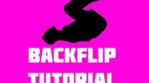 Learn how to do a backflip tutorial- part 1 back flip gymnastics