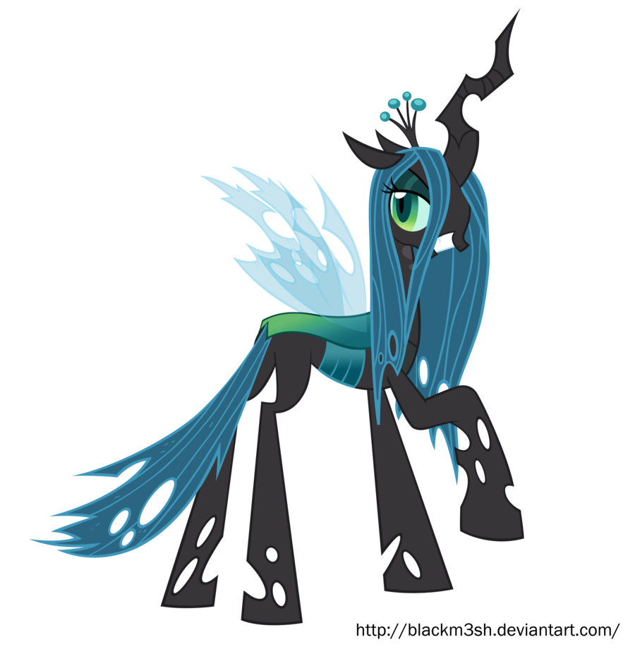 Image queen chrysalis by blackm3sh my for Queen chrysalis coloring pages