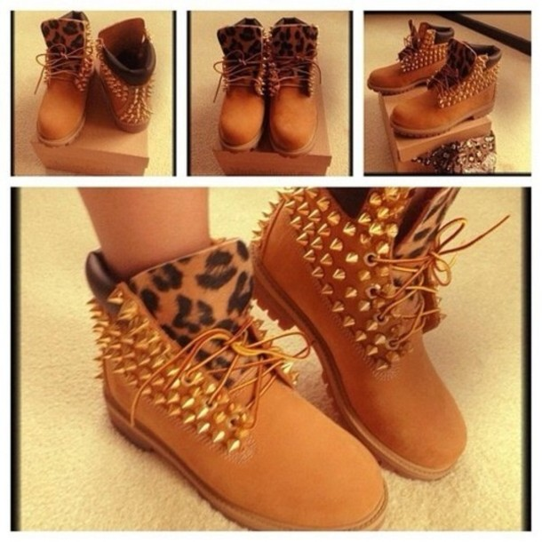 Image O98kyp l 610x610 shoes timberland boots leopard