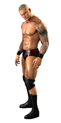 Randy Orton SmakckDown vs Raw 2011 Render
