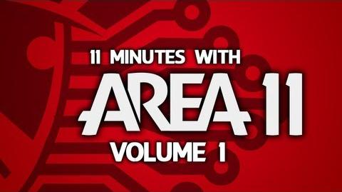 """11 Minutes With Area 11 - Volume 1 """"I Don't Spend Much Time Videoing Televisions""""-1"""