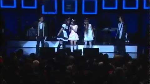 DANCEROIDメドレー(Be Myself~Strobo Nights~Luka Luka★Night Fever)2010.2.20