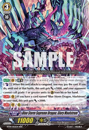 Blue Storm Supreme Dragon glory Maelstrom