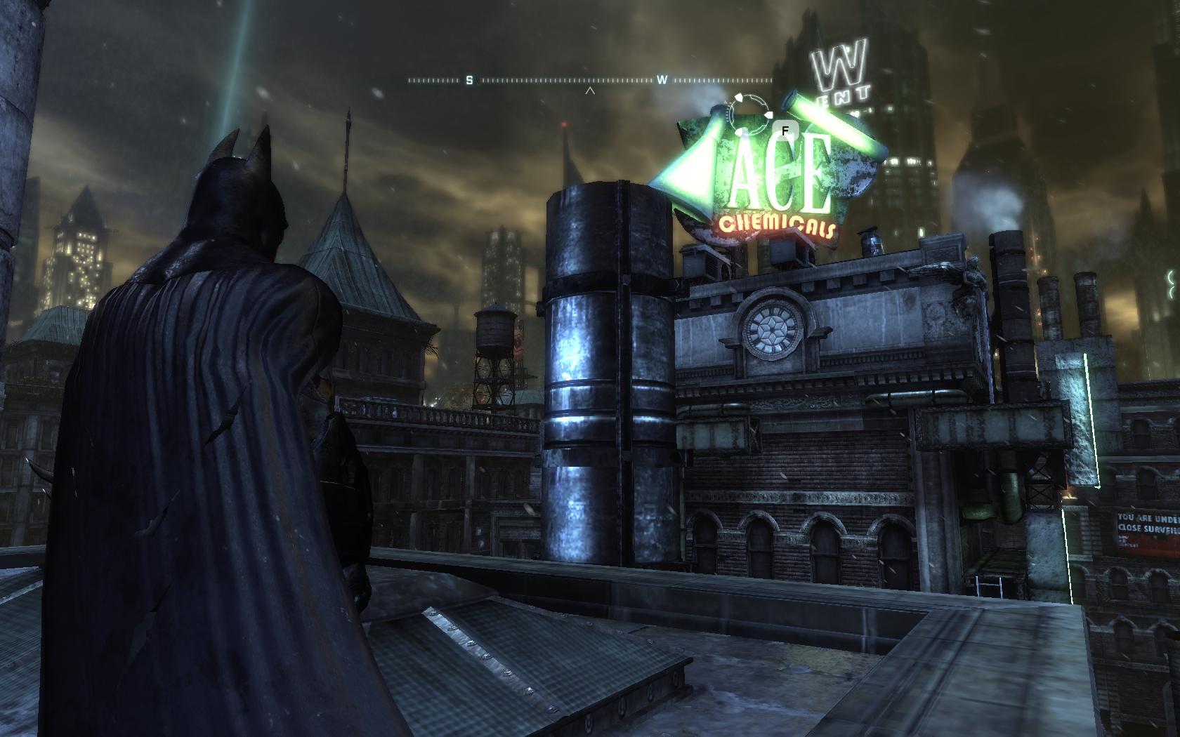 Batman Arkham City Ace Chemicals Building