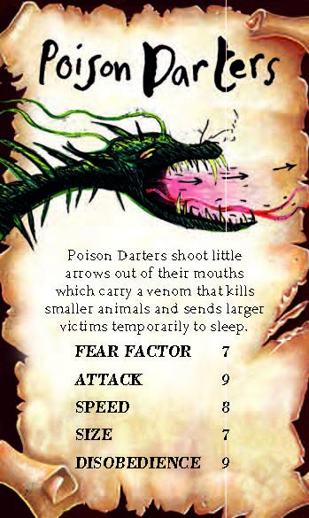 poison darter how to train your dragon wiki