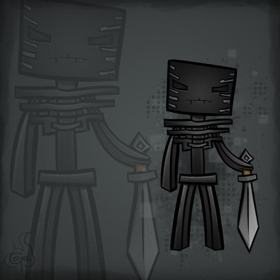 Wither Skeleton ClassReal Life Wither Skeleton