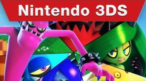 Sonic Lost World Nintendo 3DS Trailer