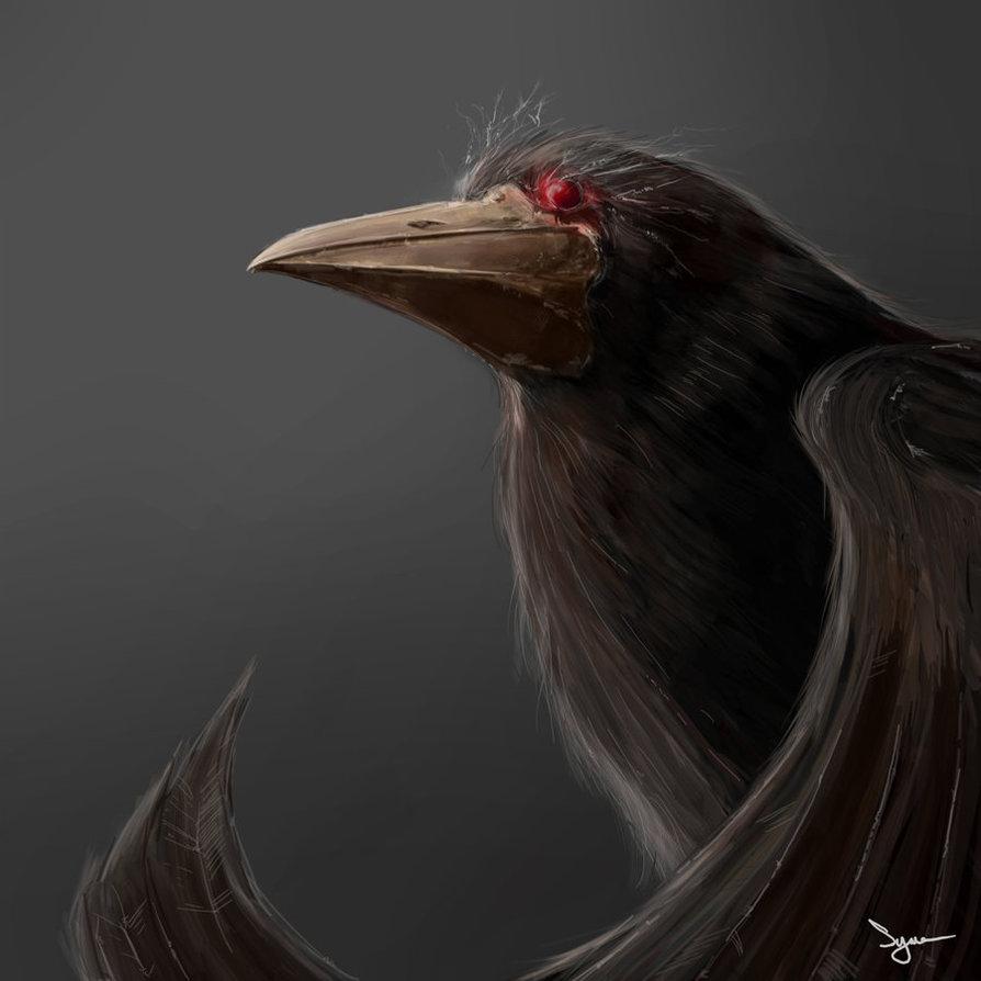 Evil crow - photo#10