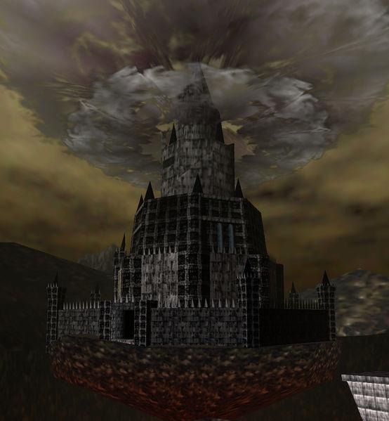 Stage: Ganon`s Castle going down Castillo_Ganon_OoT