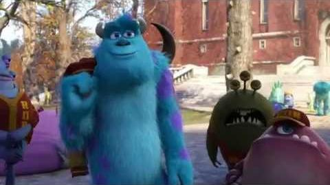 Tráiler de Monsters University Castellano
