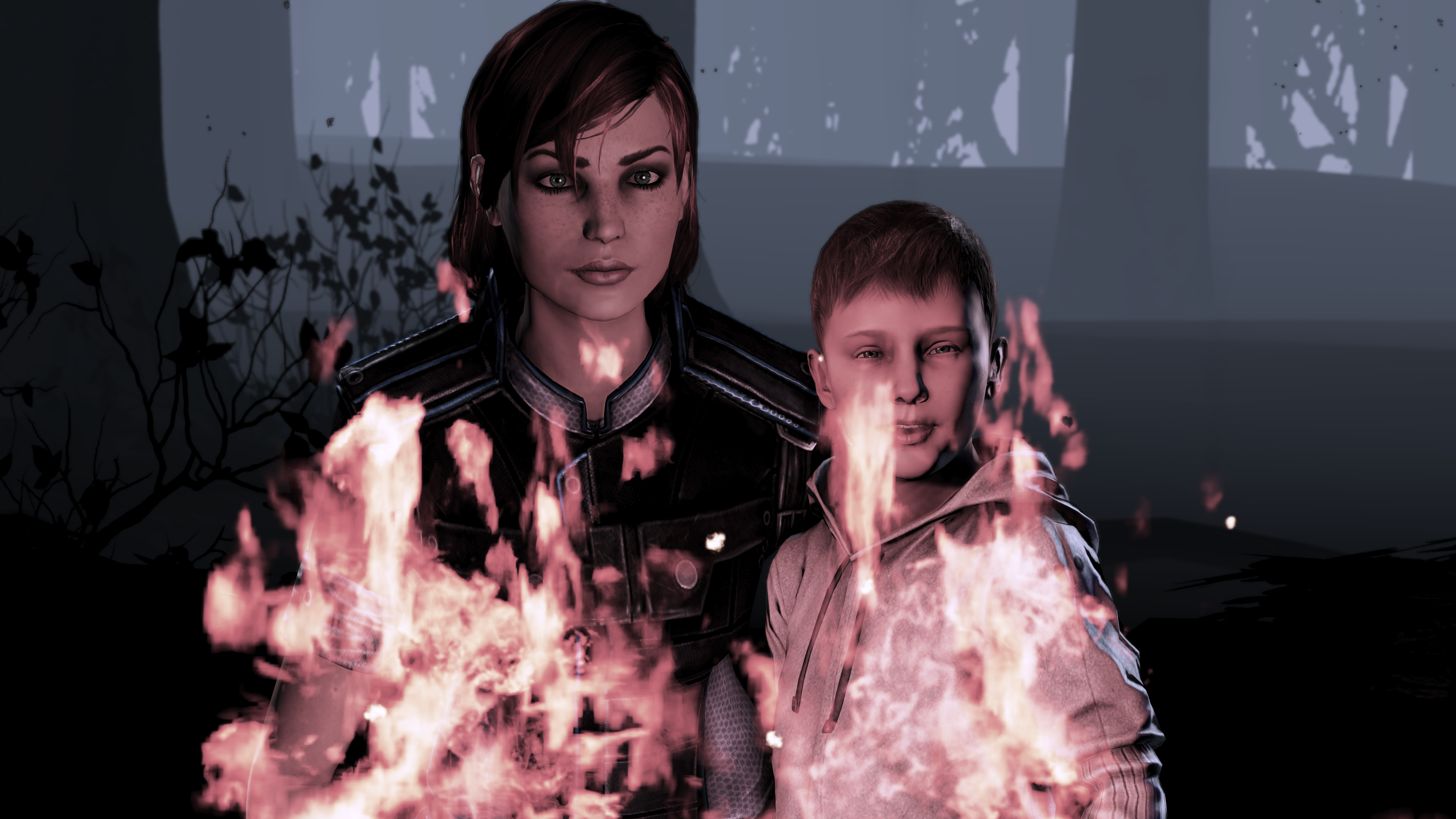 Shepard_and_happy_burning_kid.png